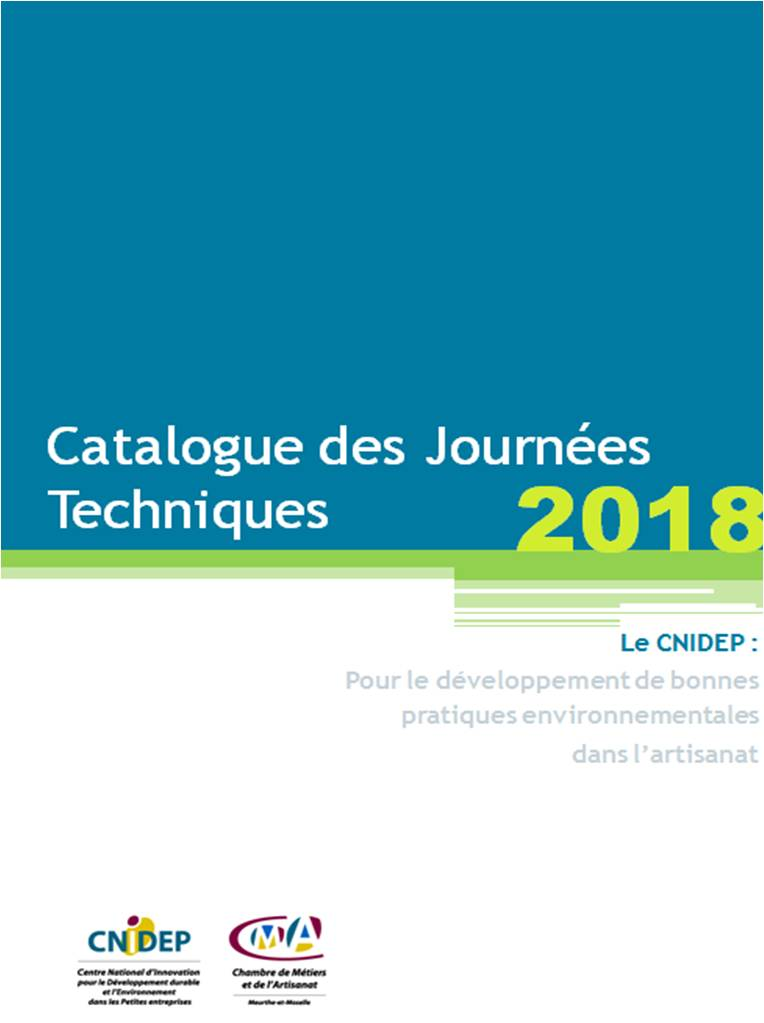 Page de garde catalogue JT 2018