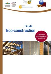 "Page de garde du guide ""écoconstruction"""